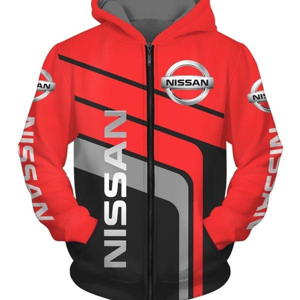 nissanhoodie, 3D hoodies, Plus Size, 3d sweatshirt