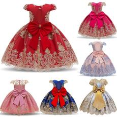 kidsprompartydre, girlsbigbowdre, Lace, Dress