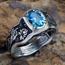 Couple Rings, Blues, DIAMOND, Love