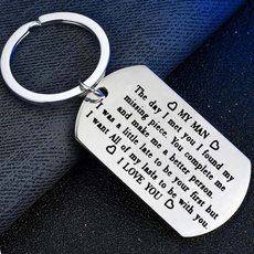 Steel, iloveyoukeychain, Stainless Steel, Key Chain