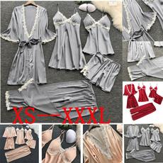 Underwear, silk, Lace, Bathrobe