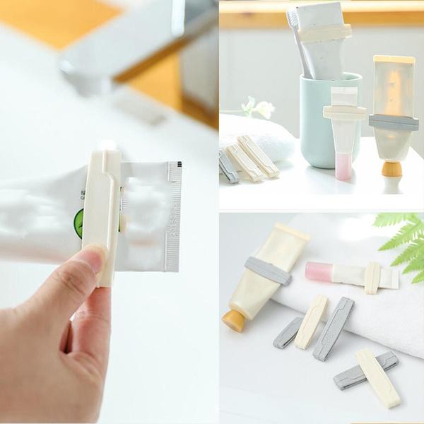 Bathroom, toothpastesqueezer, extrusion, Clip