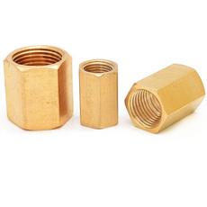 Brass, Copper, threadconversionconnector, hexcouplingcoupler