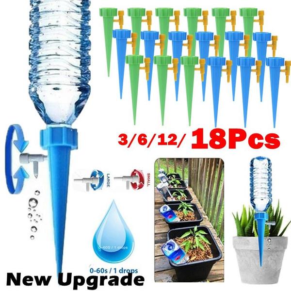Plants, microirrigation, Garden, dripsprinkler