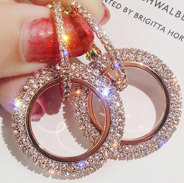 piercedearring, weightlossearring, Christmas, Hoop Earring