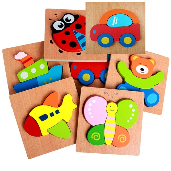 Toy, Wooden, Jigsaw Puzzle, Jigsaw