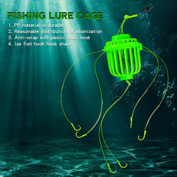 fishhooktackle, fishinglurecage, Glow, Fishing Lure