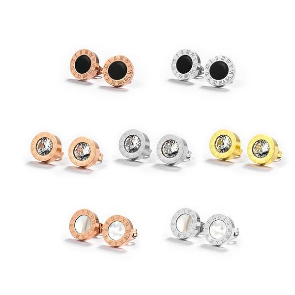 Steel, Fashion, Jewelry, Earring