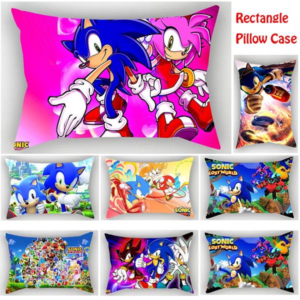 sonic, Cushions, sofapillowcover, sonicpillowcase