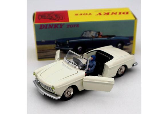 Atlas 1423 Dinky toys 1:43 Cabriolet504 Peugeot modèle de voiture Roadster