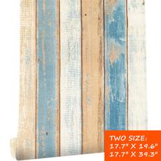 Decor, 3dwoodwallpapersticker, mediterraneanwallsticker, fauxwoodwallpaper
