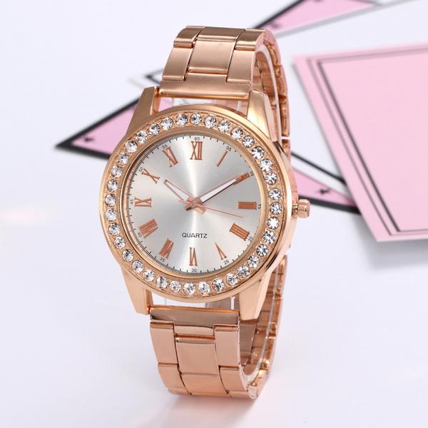 Fashion, rosegoldwatch, gold, Dress