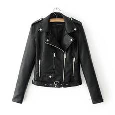 motorcyclejacket, Fashion, jackets for girls, Long Sleeve