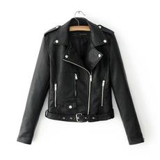 motorcyclejacket, Fashion, jackets for girls, Long Sleeve