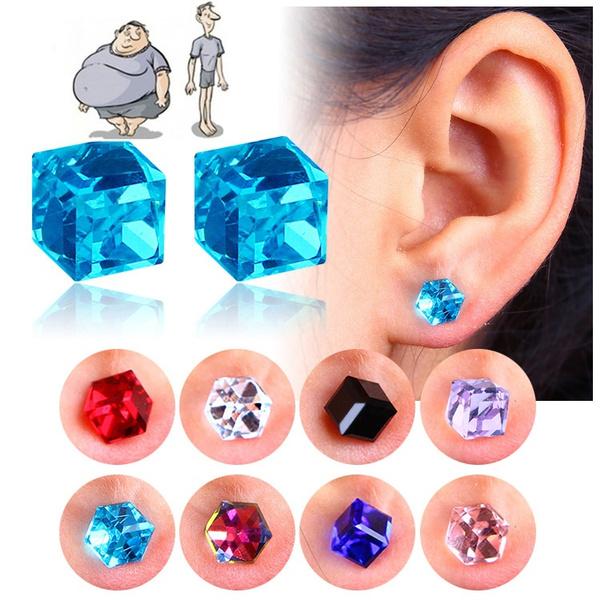 Hoop Earring, Sapphire, Gifts, Stud Earring