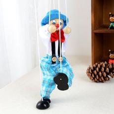 pullstringpuppet, clowntoy, Toy, doll