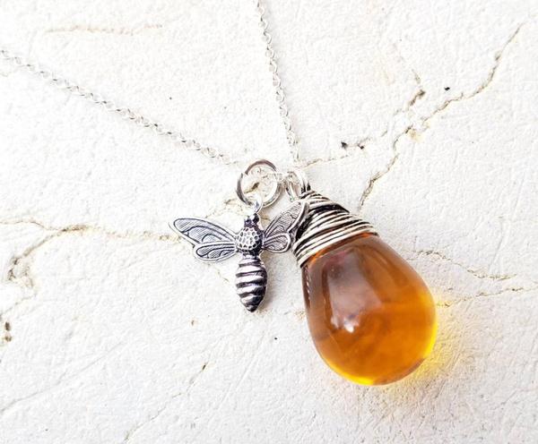 amber, bumble, Jewelry, Glass