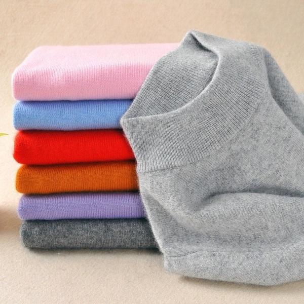 autumnandwintersweater, Plus Size, Sleeve, turtleneck