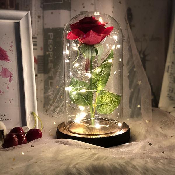 eternalflower, Home Decor, beautyandthebeastrose, Cover