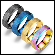 Steel, pearlsandring, Jewelry, titanium steel rings