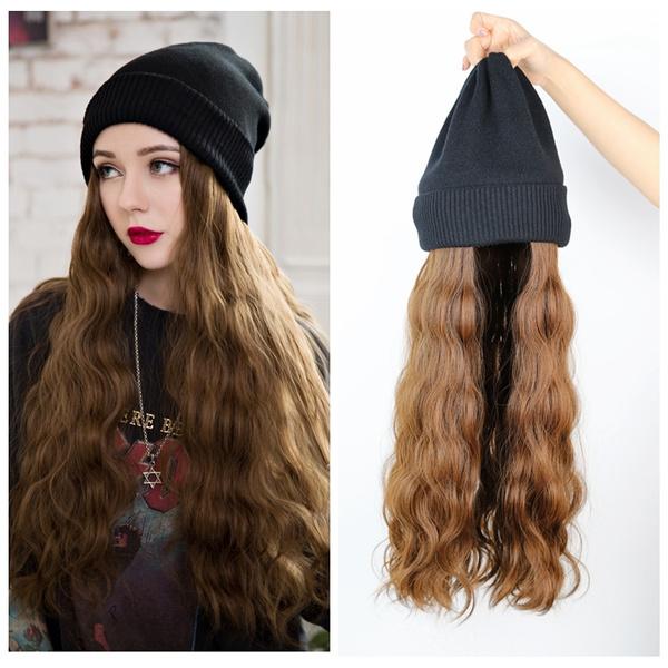 wig, Warm Hat, Beanie, Fashion