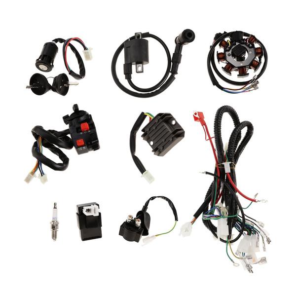 Complete Electrics CDI Coil Wiring Harness for ATV QUAD Dirt Bike 150-250cc  | WishWish