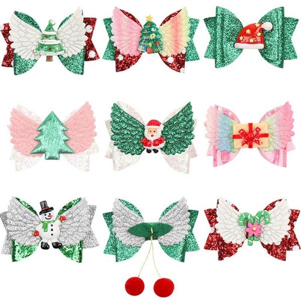 hairbowknot, Fashion, christmashairbow, Princess