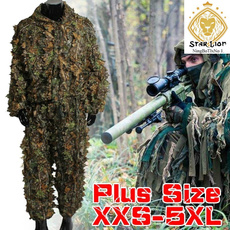 ghlliesuit, Outdoor, leaf, Hunting