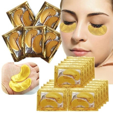 golden, beautymask, eye, collageneyecream