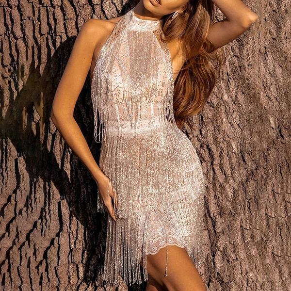 Women, Tassels, Fashion, sexy dresses
