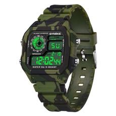 Waterproof Watch, Colorful, esportswatch, quartz watch