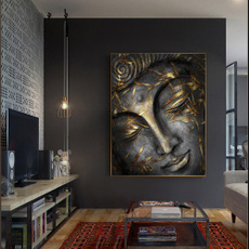 golden, Head, Home Decor, Home & Kitchen