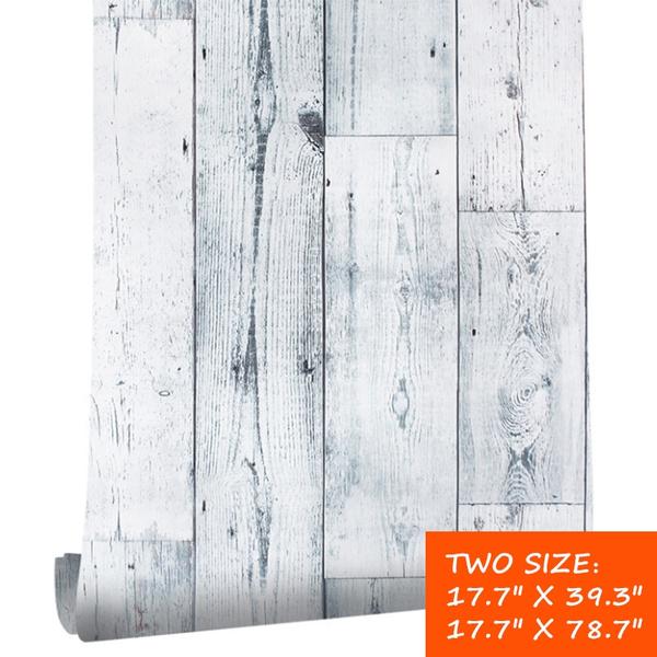 woodplanksticker, 3dwoodwallpapersticker, Home Decor, fauxwoodwallpaper
