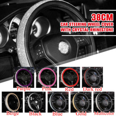 DIAMOND, leathersteeringwheelcover, bling bling, PC