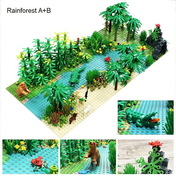 baseplate, Plants, Animal, Blocks