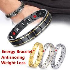 Steel, antisnoringbracelet, Jewelry, magnetictherapybracelet