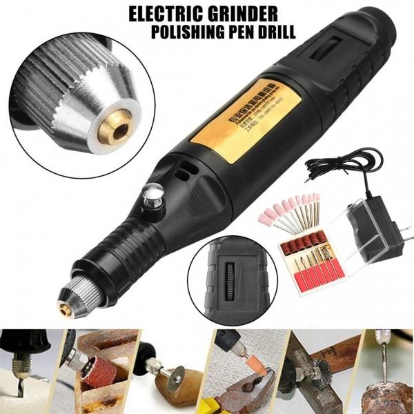 Mini, polishingtool, rotarygrinder, Electric