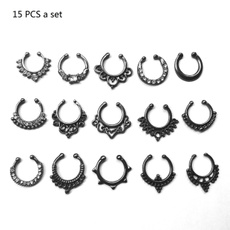 Jewelry, femalenosering, noseringset, piercing