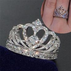 ringsformen, crystal ring, Jewelry, crownring