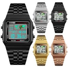 Stainless Steel, Waterproof Watch, business watch, Waterproof