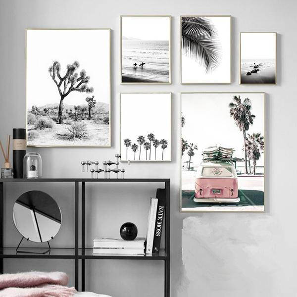Nordic Canvas Painting Black White Wall Art Posters And Prints Minimalism Wall Pictures For Living Room Home Decor Painting Art No Frame Wish