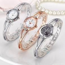 Steel, Stainless, Fashion, Dress Watches