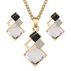 goldplated, Fashion, neckalceearringset, women necklace