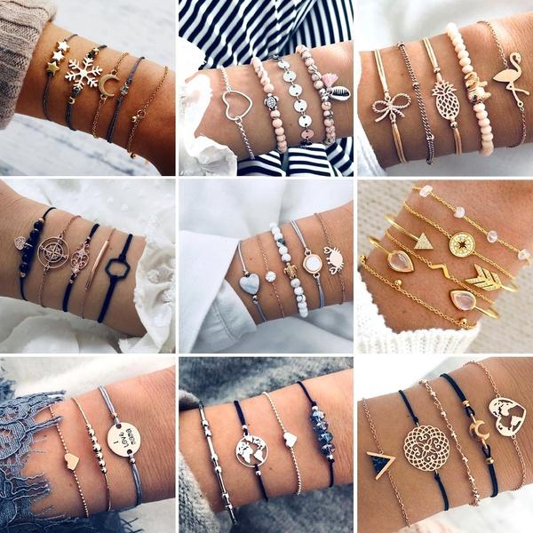 Heart, flamingo, Star, Jewelry