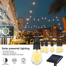 solarpoweredstringlight, Patio, energysavinglight, led