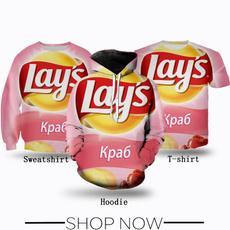 Fashion, potatochip, Chips, T Shirts