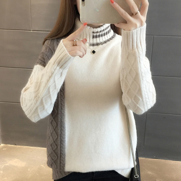 Women Sweater, knit, Winter, Sleeve