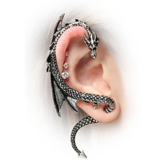 Goth, Jewelry, punk, retro earrings
