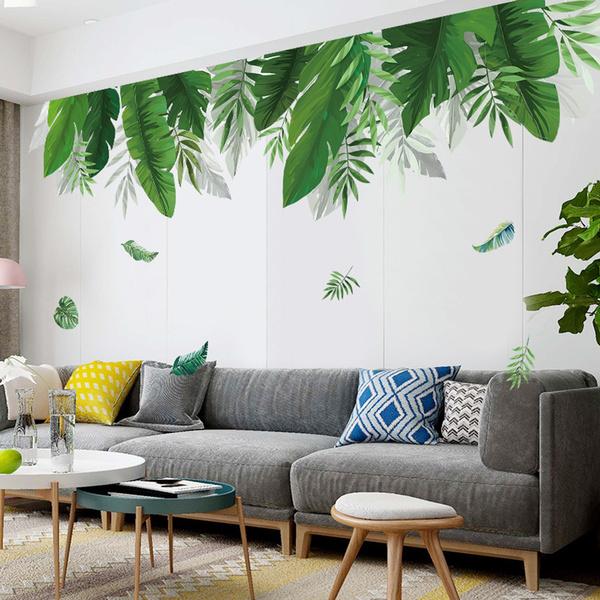 leaves, Bathroom, Fashion, Home Decor