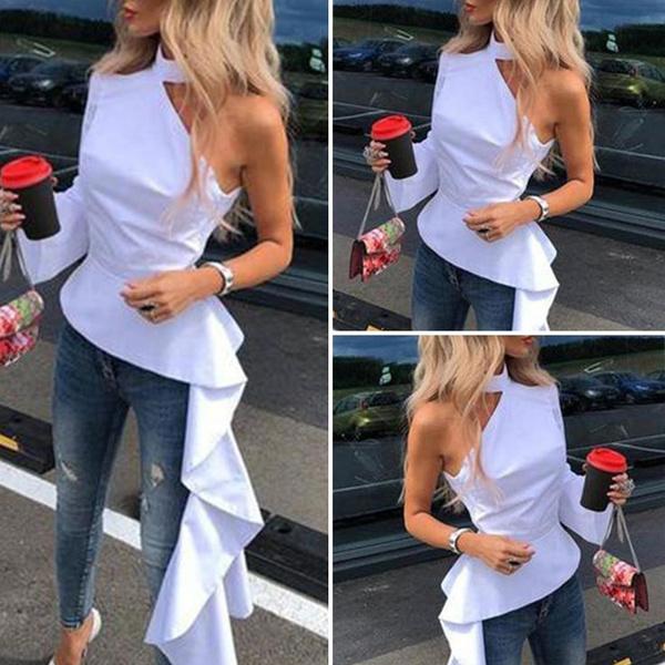 shirtsforwomen, blouse, Plus Size, swallowtailblouse